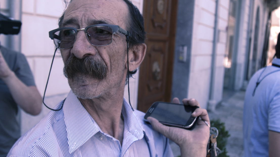 Kleine helden - Italië:  Pino Maniaci - (c) Filip Huygens