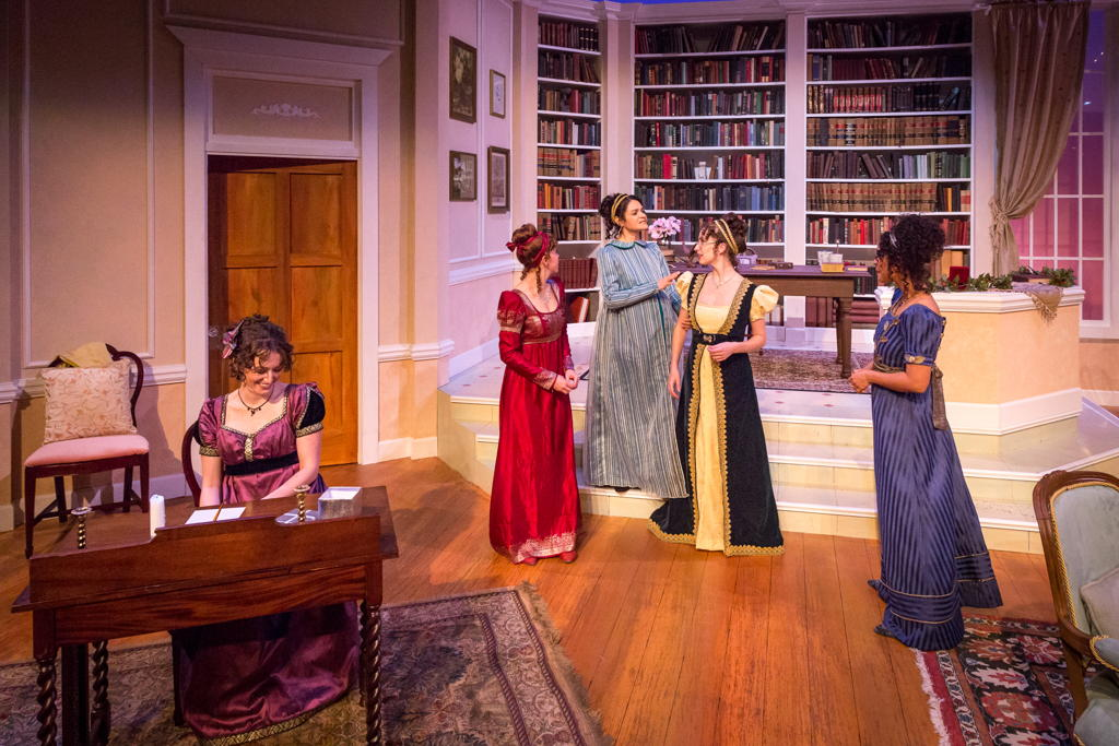 The Bennet sisters. photo by David Woolf