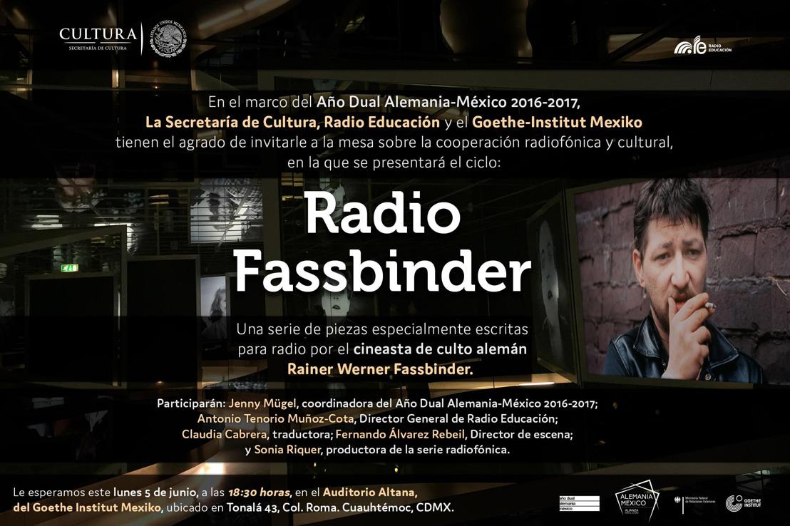 Invitación: Radio Fassbinder