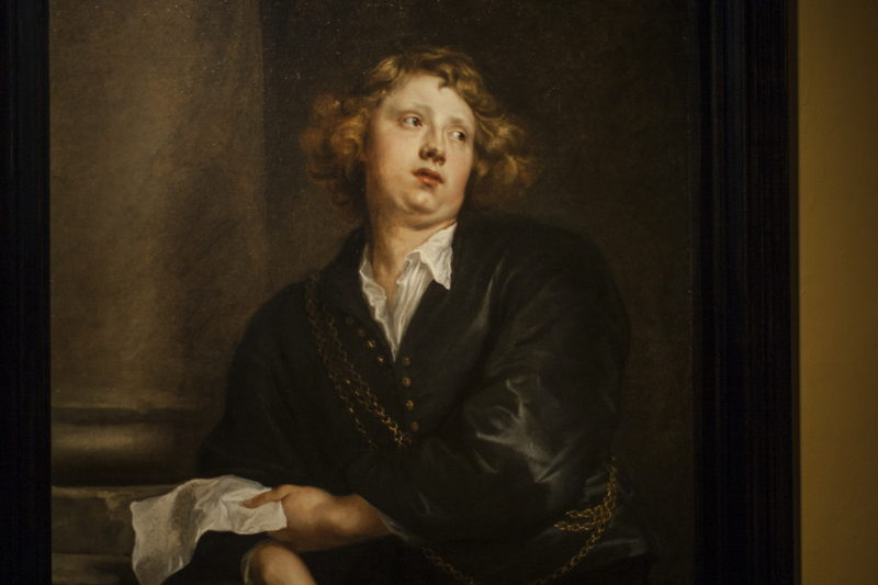 Anthony van Dyck, Portret van Hendrik Liberti, Langdurig bruikleen, The Phoebus Foundation, foto Ans Brys