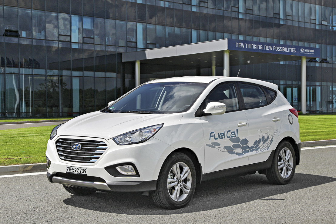 Hyundai lancia in Svizzera la prima auto a idrogeno di serie