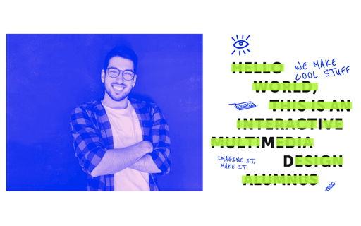 Robert, front-end developer en IMD alumnus, neemt je een dag mee op zijn job