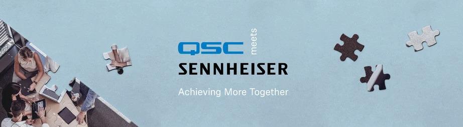 QSC ja Sennheiser: Videopuheluiden uusi sukupolvi