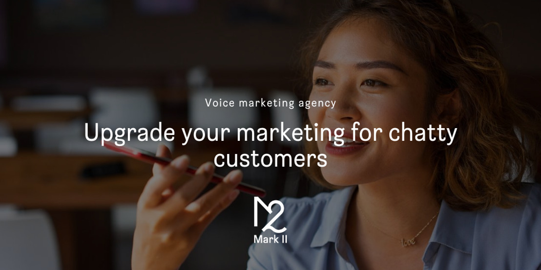 Mark II wordt eerste voice marketing agency van ons land