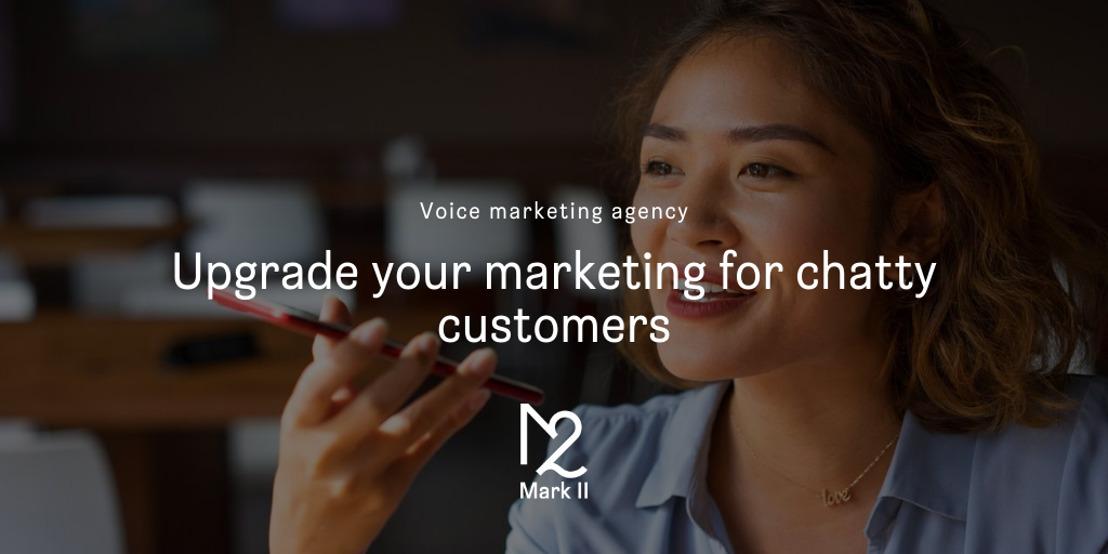 Mark II wordt eerste voice marketing agency van ons land