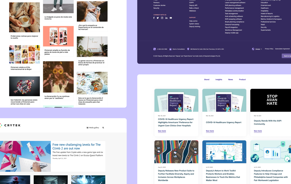 Academy: 10 stunning online newsroom examples you simply must see