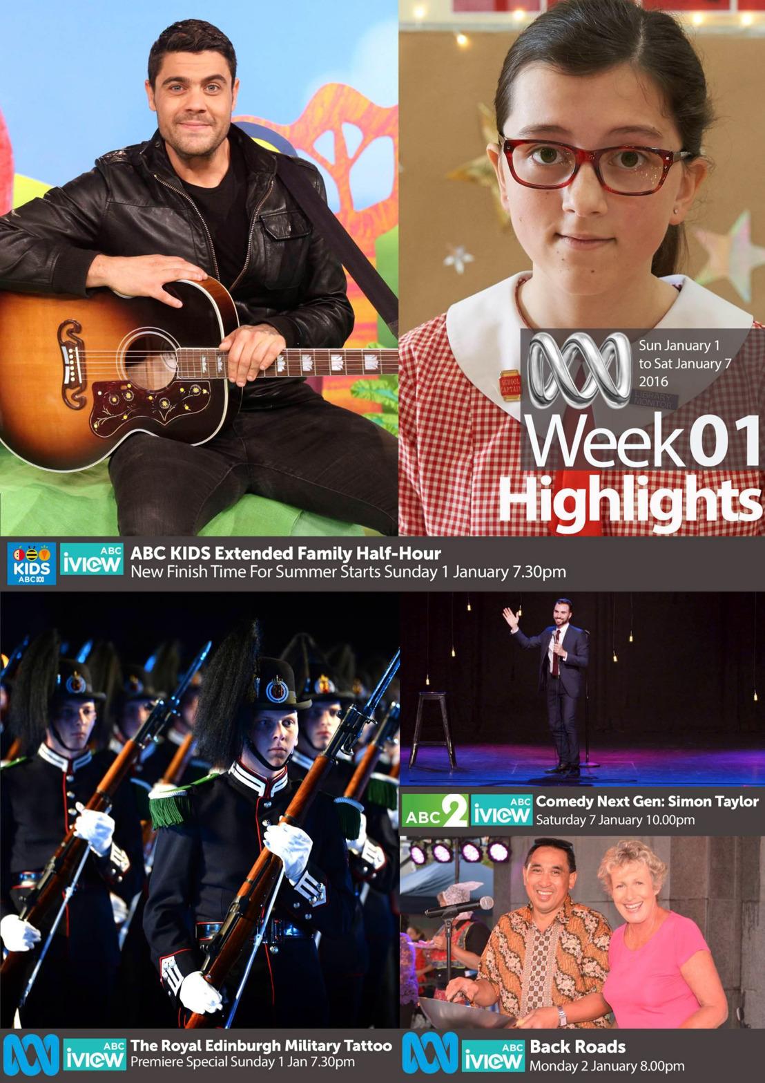 ABC Program Highlights - Week 1