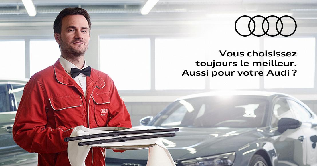 Prophets délivre un service de qualité pour Audi