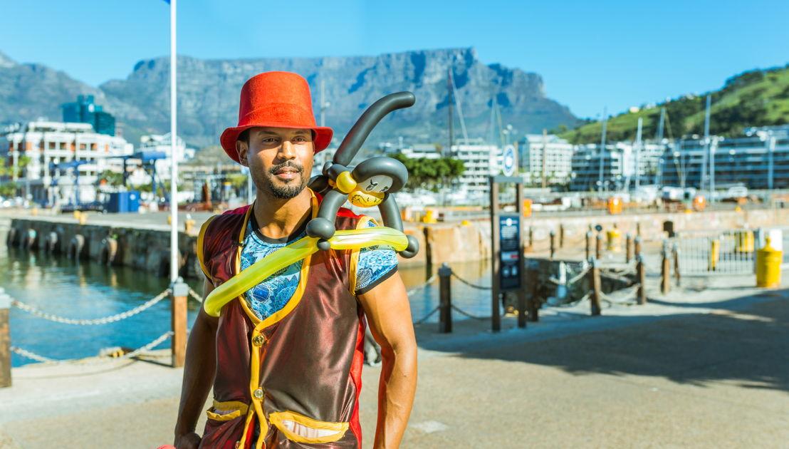 Stilt Walker - Cape Town Buskers Festival