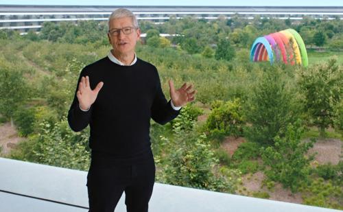 Tim Cook, CEO van Apple, spreekt op CPDP 2021 op Internationale Dag van de Gegevensbescherming