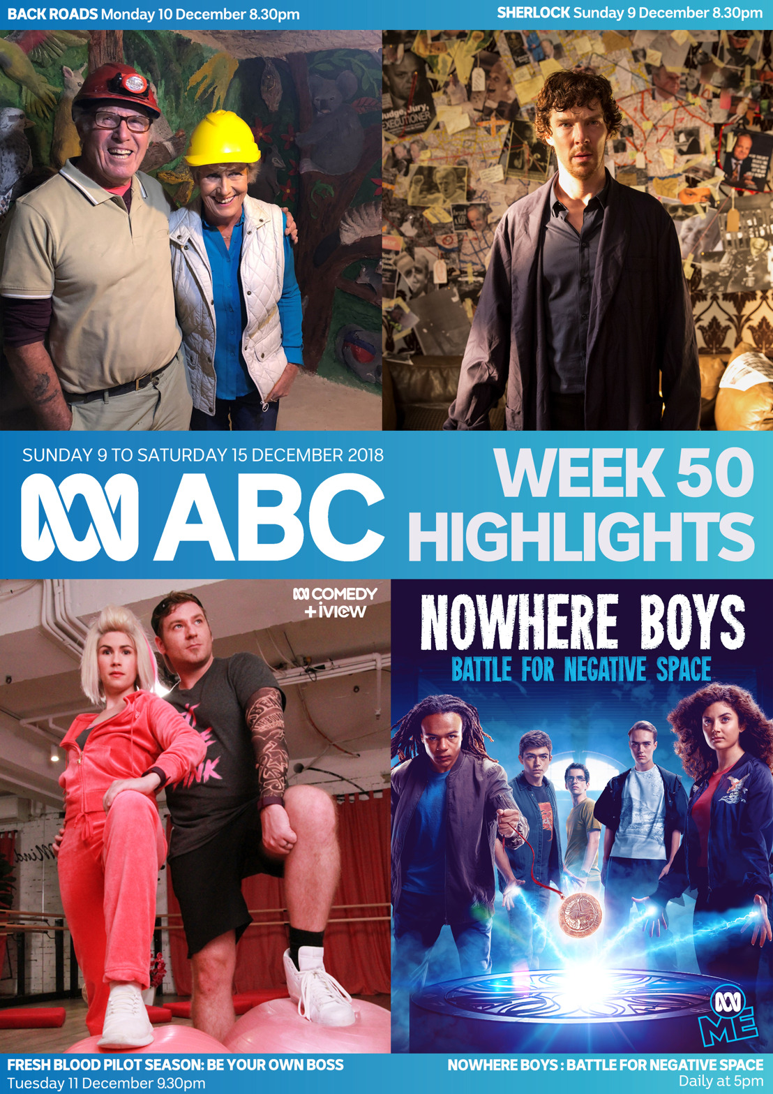 ABC TV Program Highlights - Week 50