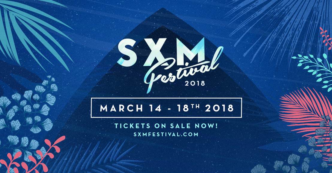 SXM Festival Returns to the Caribbean Island of St Martin March 14-18 2018