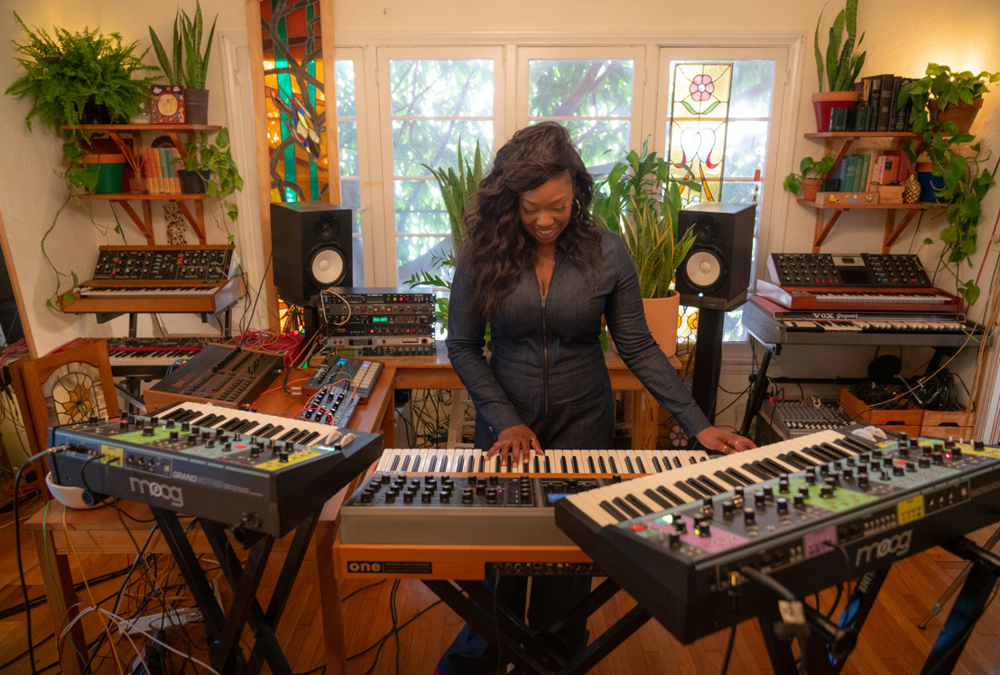 Watch: We Are KING's Paris Strother Creates Soulful Stylings with Moog Matriarch
