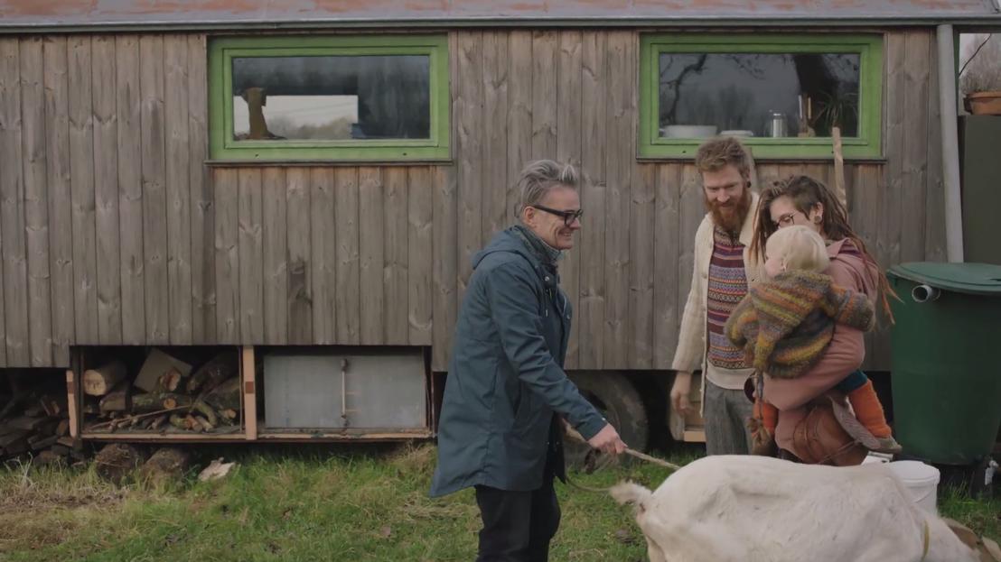 Marcel Vanthilt bezoekt een bijzonder huis<br/>Wonen.tv (c) VRT