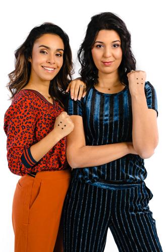 Ketnet doet opnieuw de Move tegen pesten met boegbeelden Nora Gharib en Ketnet-wrapper Sarah Mouhamou