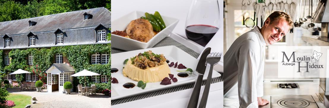 Brussels Airlines serves meals of Julien Lahire