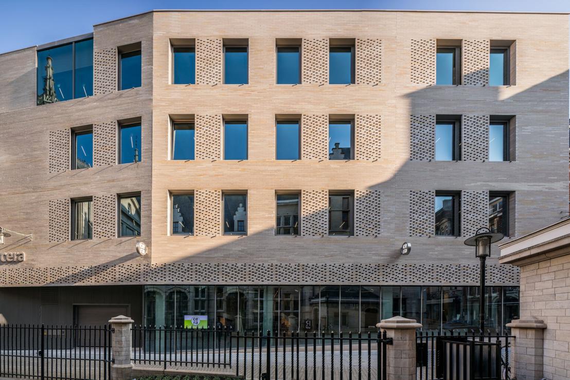 Cera entre dans son nouveau siège au centre de Leuven