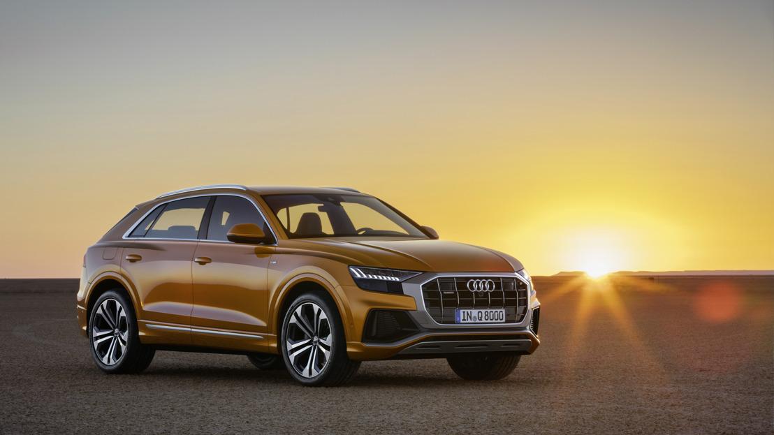Het nieuwe gezicht binnen de Q-familie: de Audi Q8