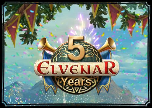 Fantastische Fantasy-Welt von Elvenar feiert fünften Geburtstag