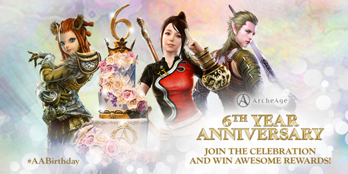 ArcheAge Celebrates Six Years of Adventure!