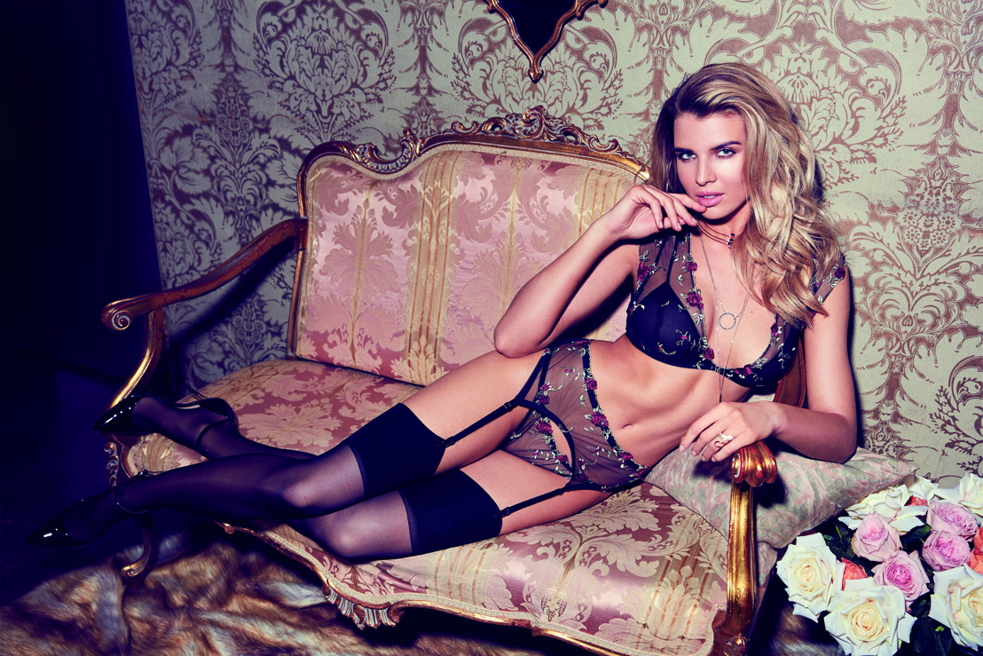 GUESS Underwear FW17: Delicate Lace & Romantic Ruffle