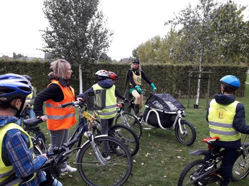 Veilig op de fiets dankzij Schoolroutekaart Wortegem-Petegem