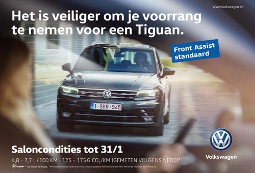 Ook wie niet met een Volkswagen rijdt, profiteert van de Volkswagen veiligheid.