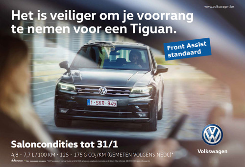 Ook wie niet met een Volkswagen rijdt, profiteert van de Volkswagen veiligheid