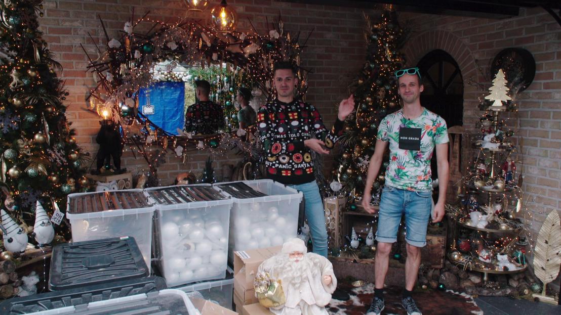 Woningen voor 400.000 kerslichtjes, 30.000 kerstballen én 10.000 miniatuurauto's