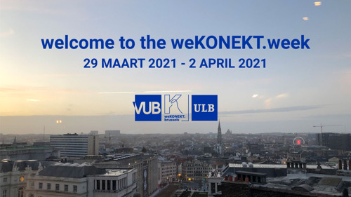 VUB and ULB students join forces with Brussels organisations for virtual weKONEKT.week