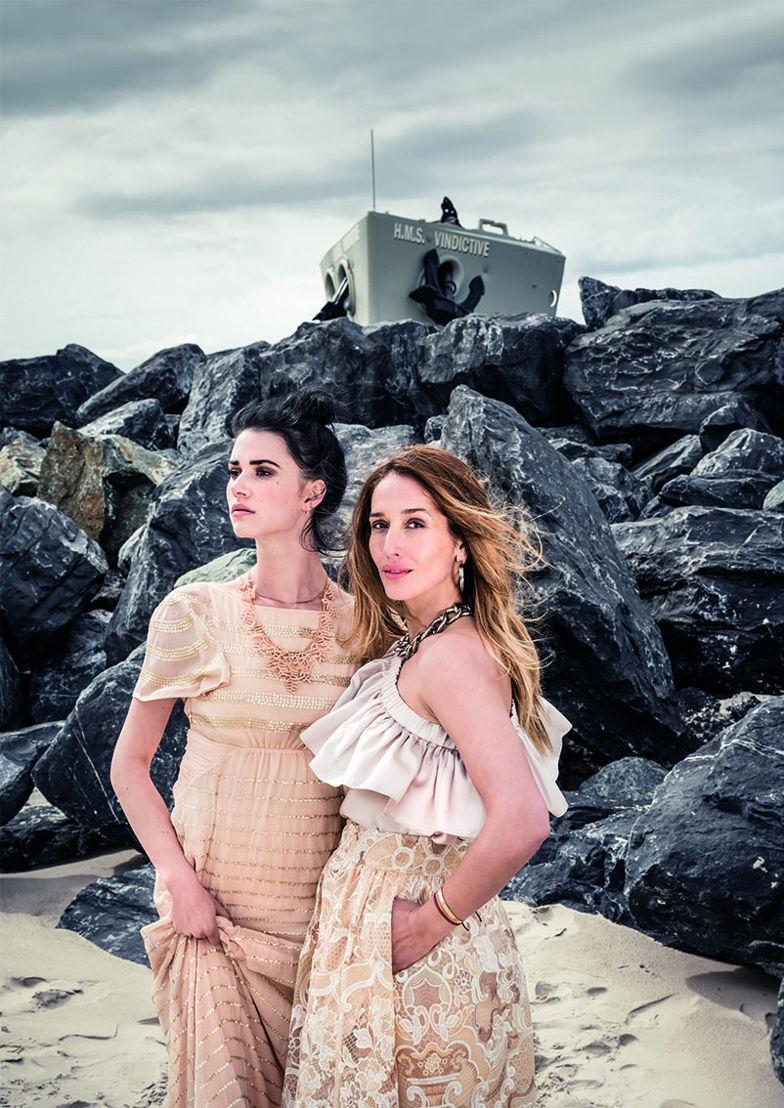 Campagnebeeld #MODEinOOSTENDE - Tiany Kiriloff, Lize Feryn - (c) Jimmy Kets