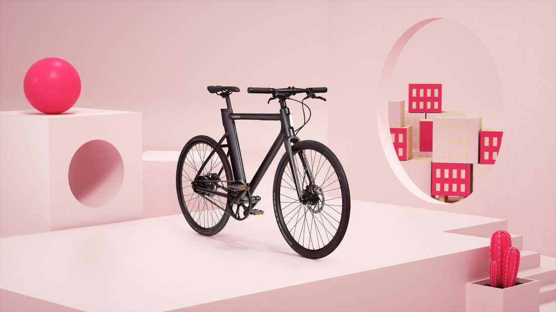 INVITATION PRESSE ⎥Cowboy ouvre une boutique sur la Kloosterstraat et souhaite ainsi augmenter le nombre d'Anversois à vélo