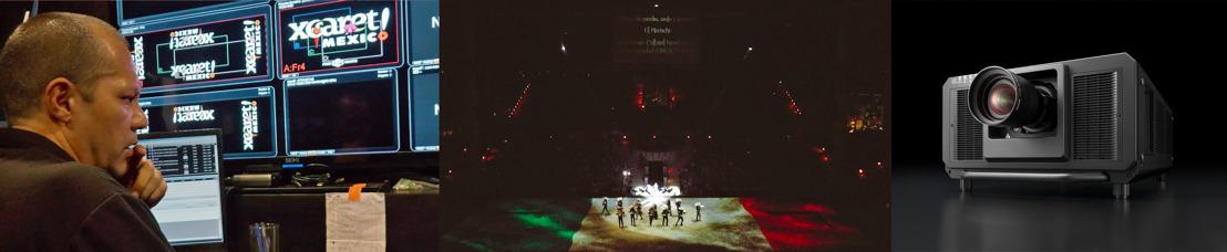 El parque temático Xcaret renueva el sistema de proyección del show México Espectacular con equipos láser de Panasonic
