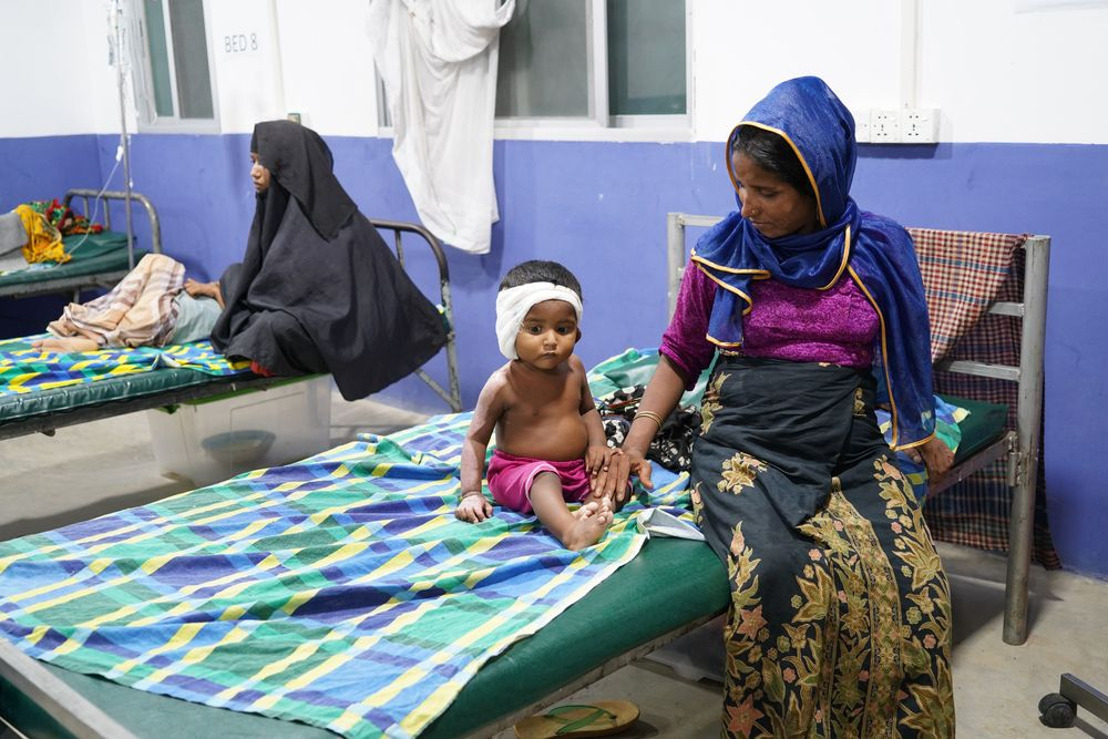 One year on, Rohingya refugees are trapped in dangerous conditions and a legal limbo