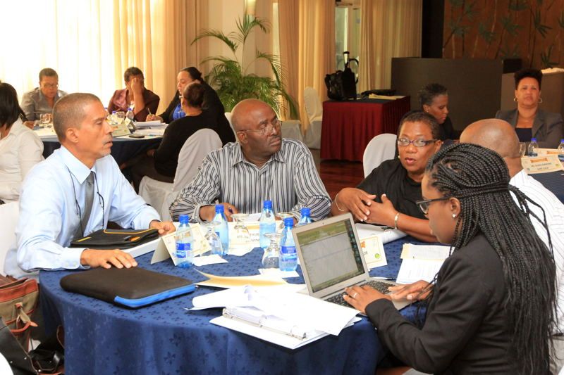 Participants at the USAID/UNICEF Family Mediation Training Workshop