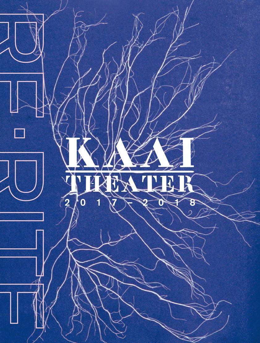 Kaaitheater 2017-2018 brochure cover