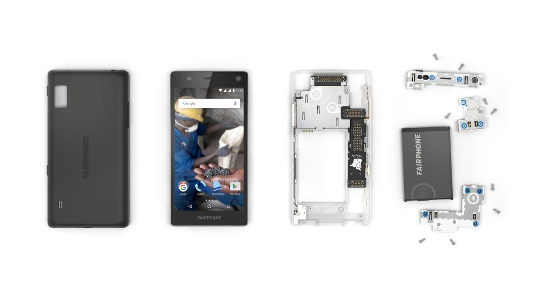 Fairphone disassembled