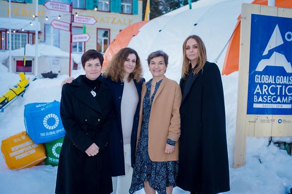 evian® a été rejoint par Stella McCartney, Ellen MacArthur et Christiana Figueres au Forum économique mondial de Davos afin de partager des solutions pour un monde décarboné au sein d'une économie circulaire