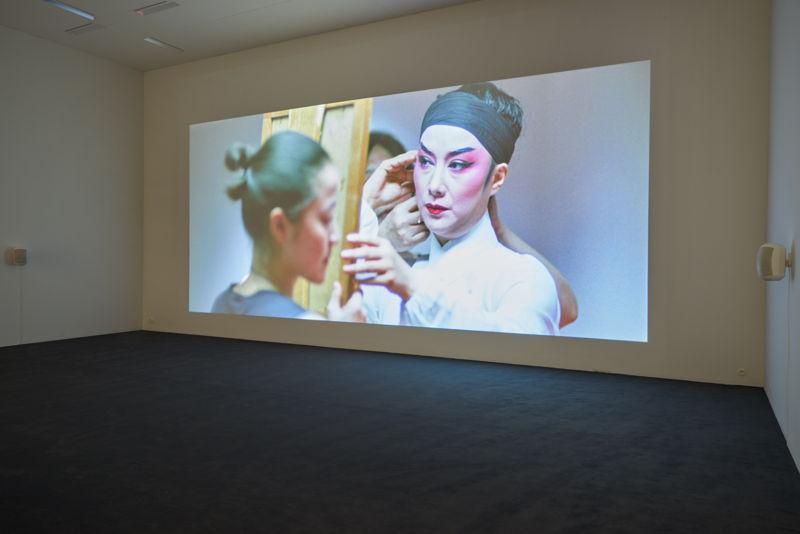 Sarah Morris. Film: Beijing (2008)<br/>35mm, 84 min. 47 sec.<br/>Courtesy of Parallax<br/>(c) Dirk Pauwels