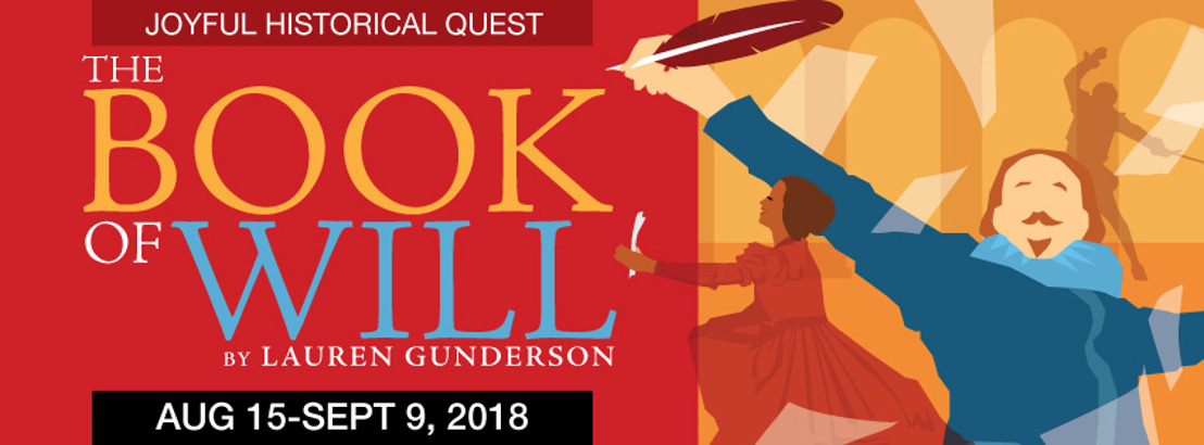 Gunderson's THE BOOK OF WILL Plays Theatrical Outfit Aug. 15 - Sept. 9