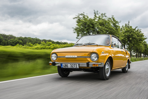 50 years of the 110 R: Half a century ago, ŠKODA presented its legendary sports coupé