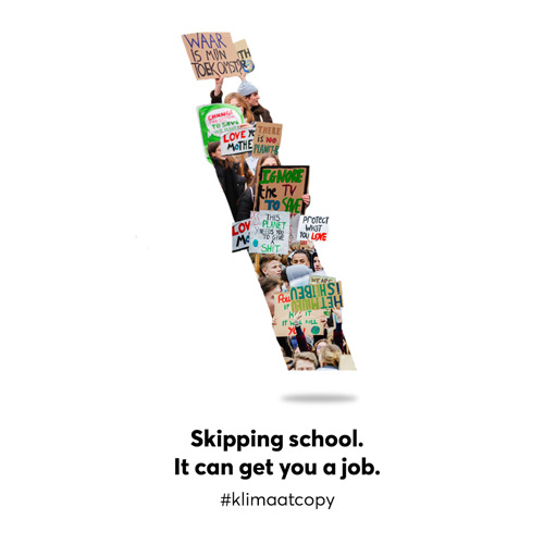 Preview: Skipping school, it can get you a job at TBWA