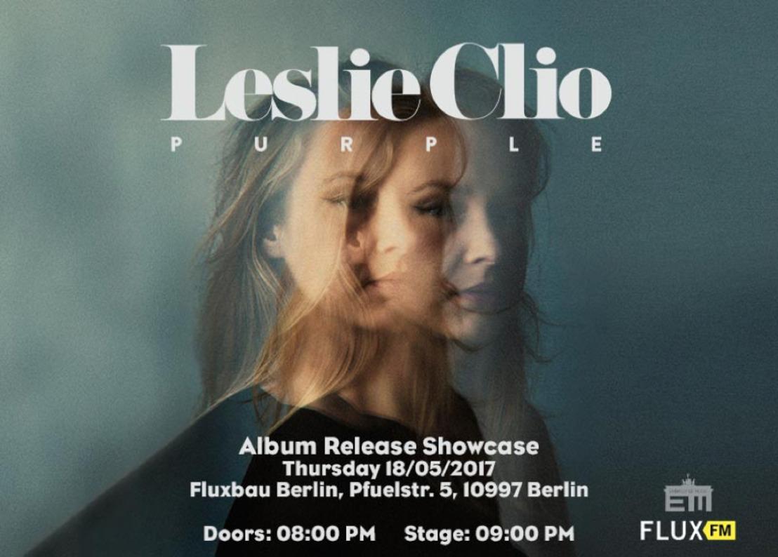 Leslie Clio | Showcase im FluxBau am Donnerstag