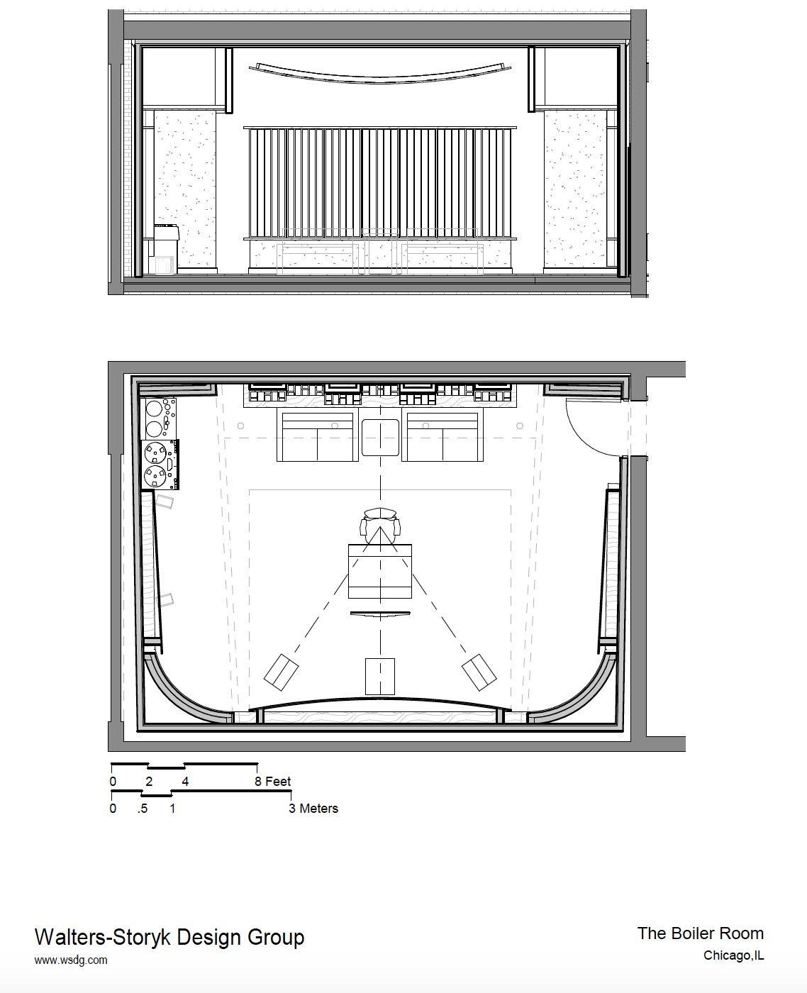 The Boiler Room Enlarged Plan