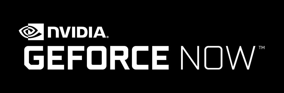 NVIDIA GeForce NOW Logo schwarz