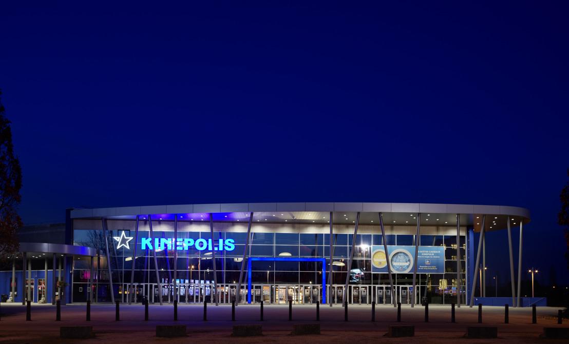 Kinepolis Anvers et Braine-l'Alleud sont les premiers complexes belges full-laser
