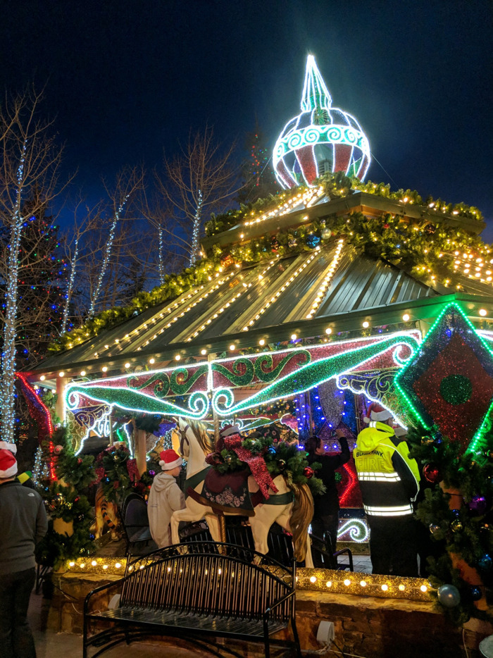 It's time to celebrate the season in Black Hawk with a holiday lighting ceremony