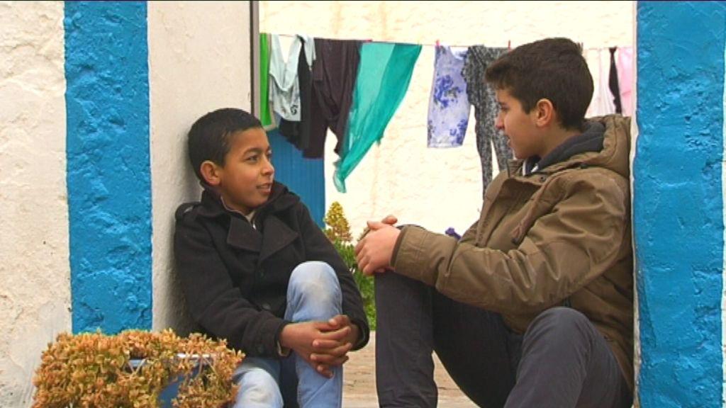 Karrewiet in Marokko - aflevering 3 (7.4): Achraf op de geitenboerderij - (c) VRT