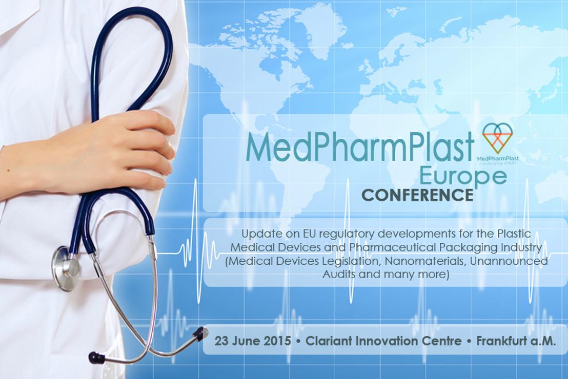 PRESSEMITTEILUNG: MedPharmPlast Europe Konferenz 2015 in Frankfurt