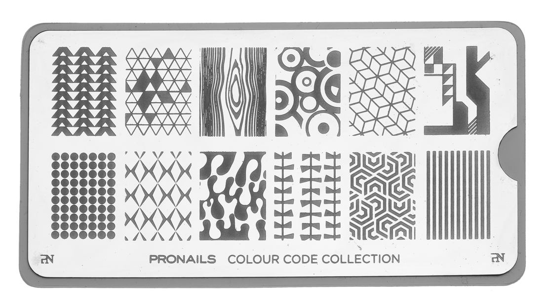 28770 Stamping Plate Colour Code Collection